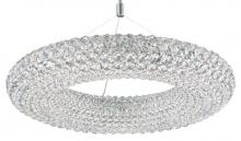 Schonbek CA2525S - Cassini 15 Light 110V Pendant in Stainless Steel with Clear Crystals From Swarovski