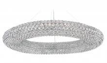 Schonbek CA3939S - Cassini 28 Light 110V Pendant in Stainless Steel with Clear Crystals From Swarovski