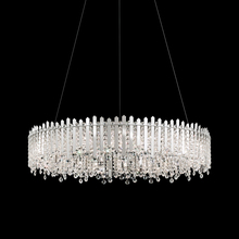 Schonbek MX8349N-301S - Chatter 18 Light 110V Pendant in Gold Mirror with Clear Crystals From Swarovski