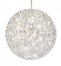 Schonbek DV1818S - Da Vinci 18 Light 110V Pendant in Stainless Steel with Clear Crystals From Swarovski