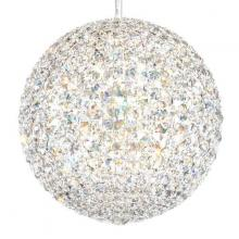 Schonbek DV1515S - Da Vinci 16 Light 110V Pendant in Stainless Steel with Clear Crystals From Swarovski