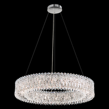 Schonbek RS8349N-06S - Sarella Pendant in White with Crystal Crystals From Swarovski