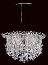 Schonbek TR4812N-401A - Trilliane Strands 8 Light 110V Pendant in Stainless Steel with Clear Spectra Crystal