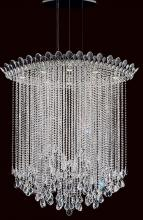 Schonbek TR4813N-401A - Trilliane Strands 8 Light 110V Pendant in Stainless Steel with Clear Spectra Crystal